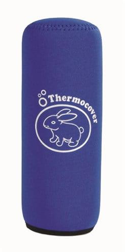 Thermohoes blauw voor drinkfles 600 ml