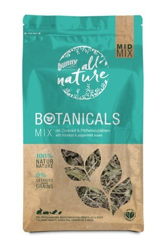 Bunny nature botanicals midi mix heermoes / pepermunt blad