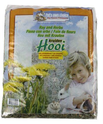 Pets own choice hooi paardebloem