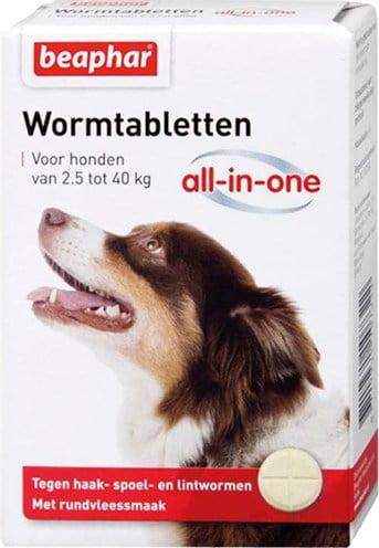 Beaphar wormtablet all-in-one hond