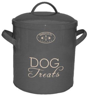 Banbury & co voorraadpot hond tin