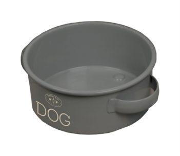 Banbury & co voerbak hond tin