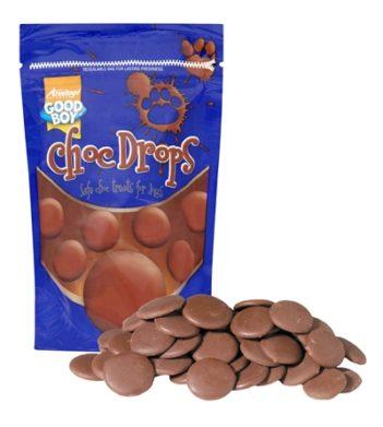 Good boy choc drops chocolade
