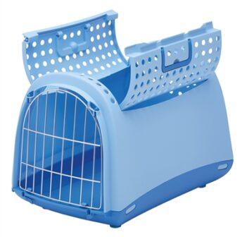 Linus Cabrio transportbox lichtblauw