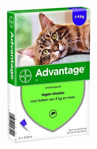 Bayer advantage kat 4 pipetten