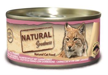 Natural greatness tuna fillet / prawns
