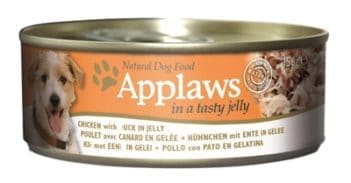 Applaws dog blik jelly chicken / duck