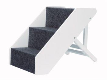 Trixie trap in hoogte verstelbaar wit
