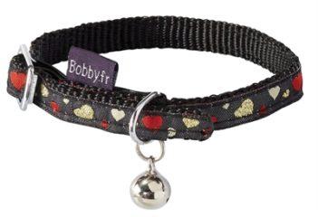 Bobby halsband kat lovely zwart
