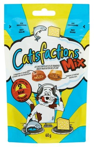 Catisfactions mix zalm/kaas