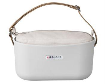 Airbuggy handtas hondenbuggy eorganizer lichtgrijs