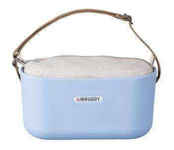 Airbuggy handtas hondenbuggy eorganizer powder blauw