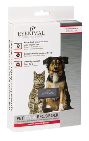 Eyenimal pet gps data recorder