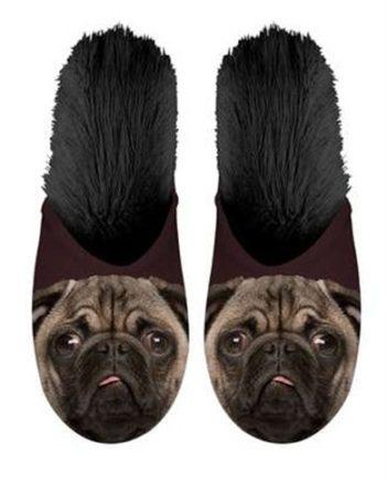 Plenty gifts pantoffel pug