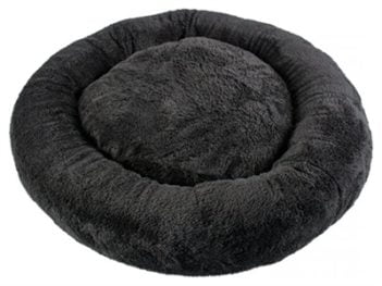 Duvo+ kattenkussen donut zwart