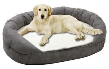 Karlie hondenmand ovaal ortho grijs