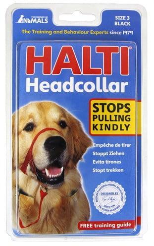 Halti headcollar zwart