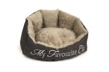 Dbl mand my favourite cat grijs