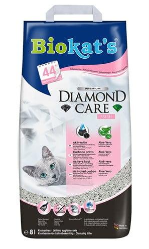 Biokat's kattenbakvulling  diamond care fresh