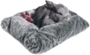 Snuggles pluche mand / bed  knaagdier (43×33 cm)