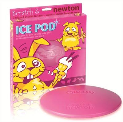 Scratch & newton ice pod koelschijf (21 cm)