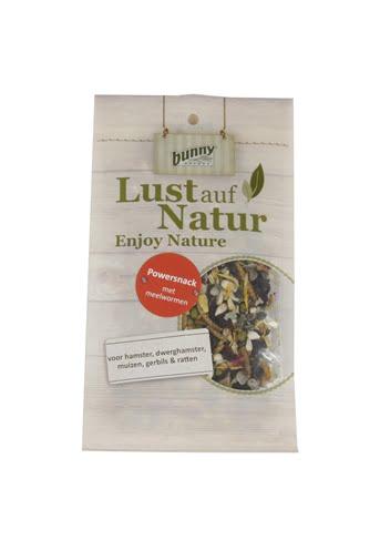 Bunny nature power snack met meelwormen (80 gr)