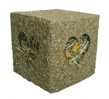 Rosewood ik hou van hooi knaag kubus (20x20x20 cm)