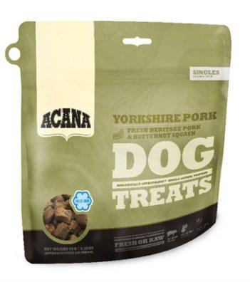 Acana dog gevriesdroogd yorkshire pork snoepjes (35 gr)