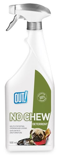 Out! no chew deterrent spray (500 ml)