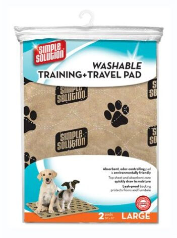 Simple solution wasbare puppy training pads (2 st 76×81 cm)