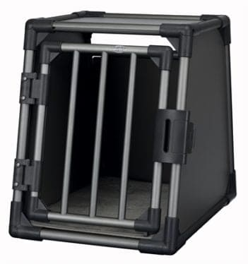 Trixie vervoersbox aluminium grafiet (s 61x48x56 cm)