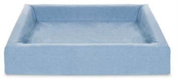 Bia bed cotton overtrek hondenmand blauw (bia-70 85x70x15 cm)