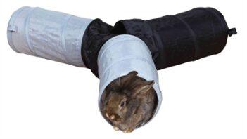 Trixie speeltunnel konijn 3-weg (47×18 cm)
