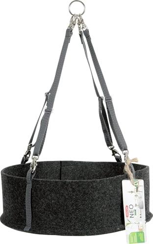 Zolux neo comfort hangmat knaagdier donkergrijs (21x21x7 cm)