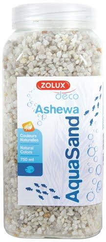 Zolux aquasand ashewa grind wit (750 ML)