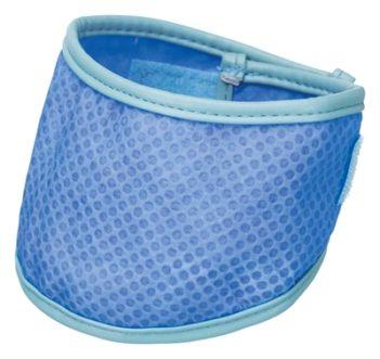 Trixie koel bandana pva blauw (38-52 cm)