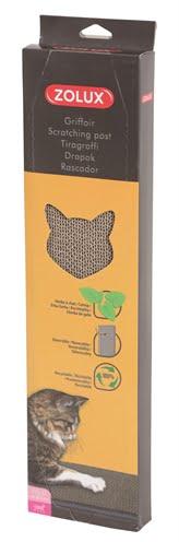 Zolux krabplank karton met catnip (44×11,5×3 cm)