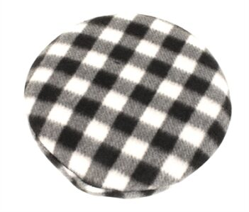 Trixie warmtekussen knaagdier voor magnetron zwart / wit (21×21 cm)