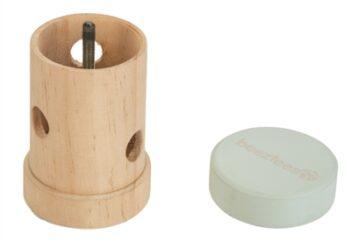 Beeztees snackroller yumzi hout mint (10,5 cm)