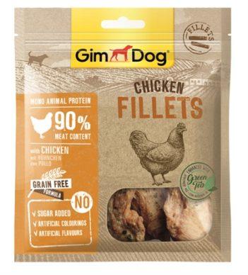 Gimdog chicken fillets with green tea (60 gr)