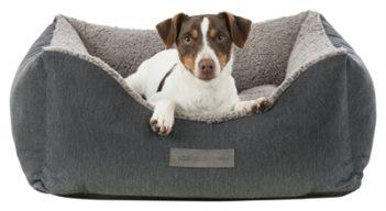 Trixie hondenmand bendson vitaal donkergrijs / lichtgrijs (70×60 cm)