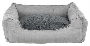 Trixie hondenmand warmte reflecterende vulling grijs (80×55 cm)
