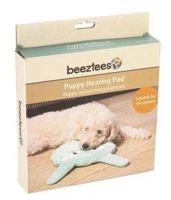 Beeztees puppy warmte pad jaia groen (21x21x3,5 cm)