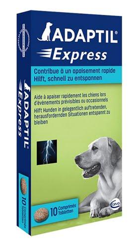 Adaptil express anti-stress tabletten (10 tbl)