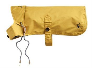 Joules hondenjas regenjas mustard geel (35 cm)