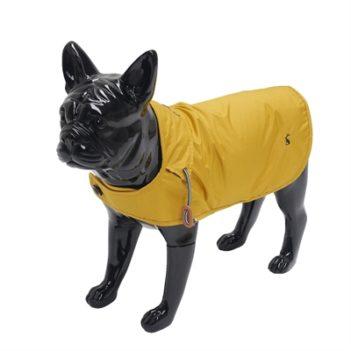Joules hondenjas regenjas mustard geel (55,5 cm)
