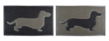 Deurmat teckel pvc assorti (75×44,5×1,6 cm)