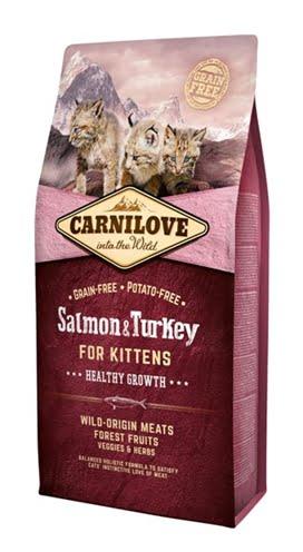 Carnilove salmon / turkey kittens (6 kg)