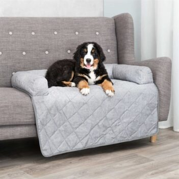Trixie sofa mand nero meubelbeschermer grijs (70×90 cm)