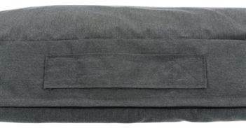 Trixie hondenkussen pulito vitaal ovaal grijs (100×70 cm)